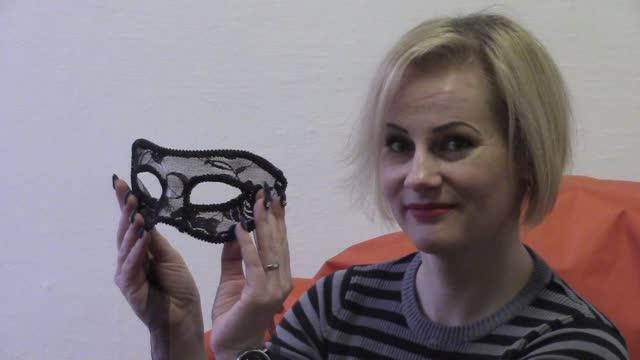 video: Verča předvádí masku na oči Elegance