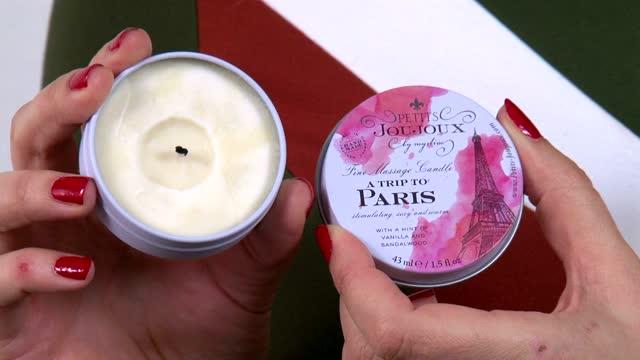 video: Karin a Masážní svíčka Paris Romance