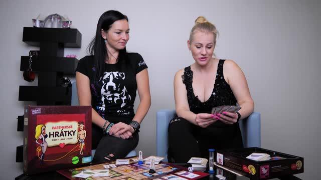 video: Domča s Verčou a Albi Partnerské hrátky – erotická stolní hra