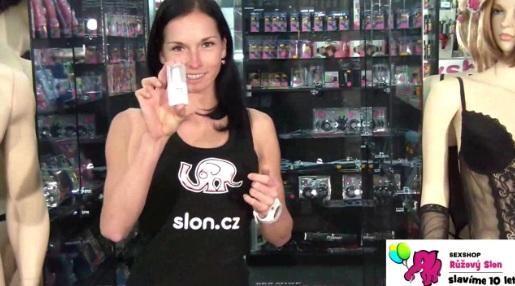 video: Dominika v prodejně a Stimul8